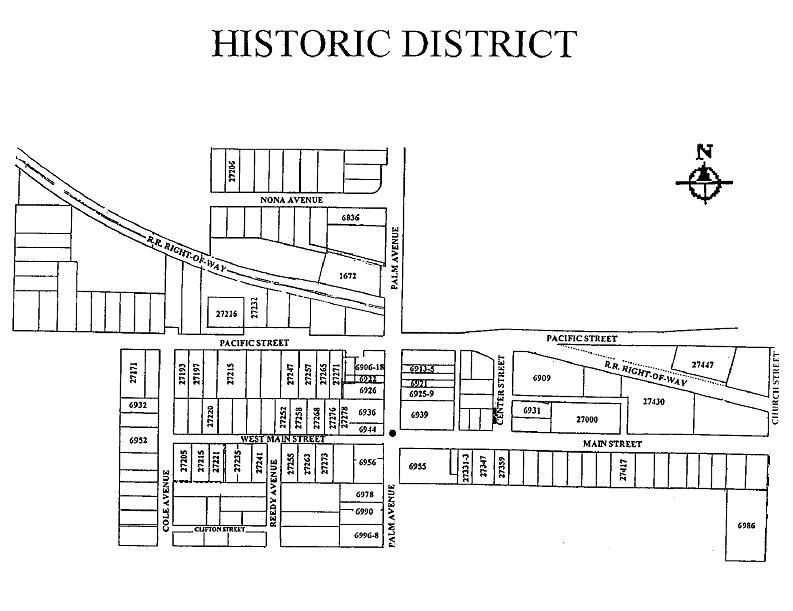 Highland California Historic District Page Highland Area