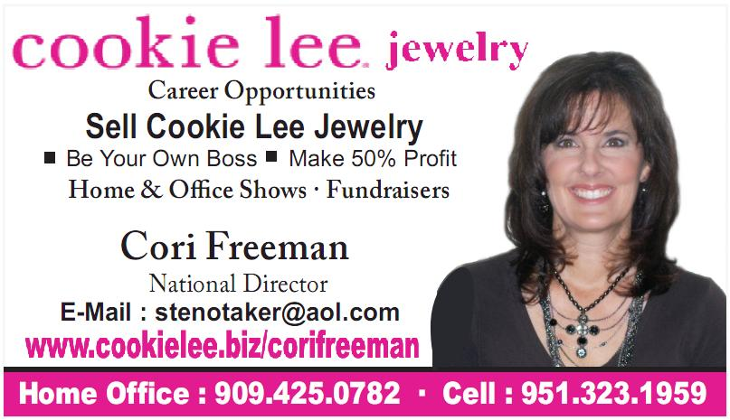 Cookie Lee Jewelry - Cori Freeman